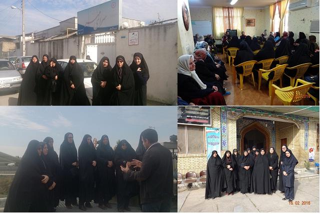 برگزاري بازديد علمي، فرهنگي و زيارتي در دهه فجر